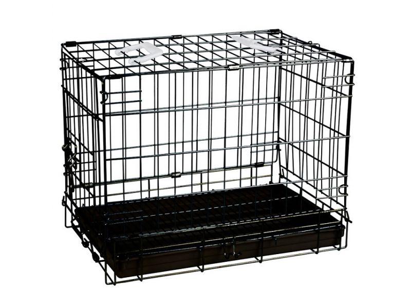 Triol Клетка для животных, пластиковый поддон, 61*45,5*52 см  - Фото