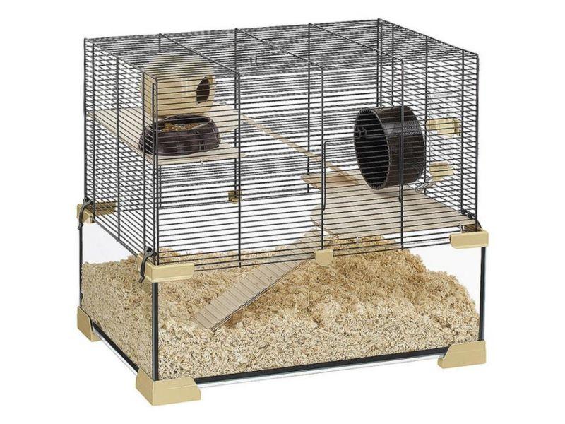 Ferplast Клетка KARAT 60, для мышей, крыс и хомяков, 59,5*39*52,5 см    - Фото