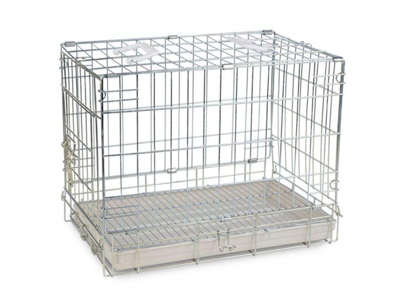 Triol Клетка для животных, цинк, пластиковый поддон, 74*55*63,5 см   - Фото