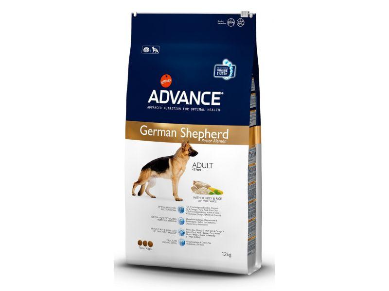 Advance Сухой корм для НЕМЕЦКИХ ОВЧАРОК (German Shepherd), 12 кг - Фото