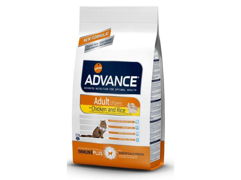 ТОВАР ДНЯ!!! Advance сухой корм для взрослых кошек: курица и рис (Adult C&R), 15 кг - Фото