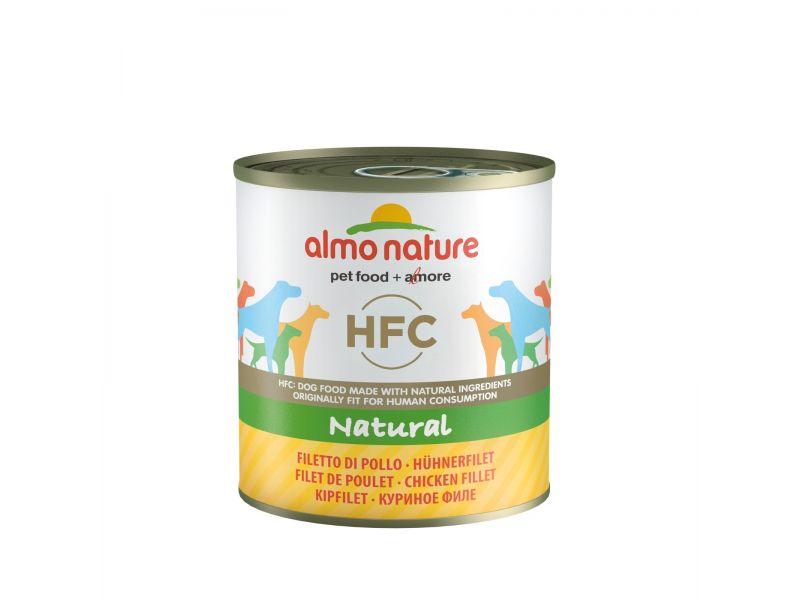 Влажный корм (консервы) Almo Nature: КУРИНОЕ ФИЛЕ для собак (Classic Chicken Fillet) - Фото