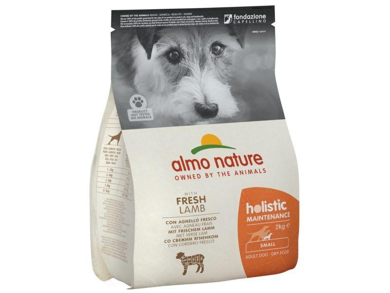 Almo Nature Сухой корм с ЯГНЕНКОМ для собак МАЛЫХ пород (Small&Lamb), 2 кг - Фото