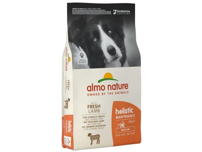 Almo Nature Сухой корм с ЯГНЕНКОМ для собак ВСЕХ пород (Medium&Lamb) - Фото