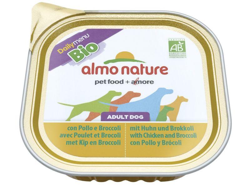Паштет Almo Nature: КУРИЦА и БРОККОЛИ для собак (Bio Daily Menu Chicken&Brocolli), 300 гр - Фото