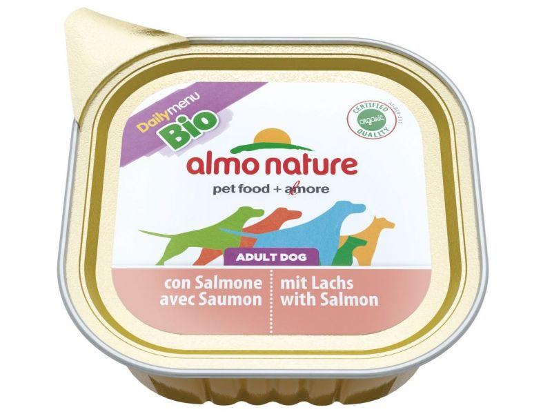 Паштет Almo Nature: ЛОСОСЬ для собак (Adult dog with Salmon) - Фото