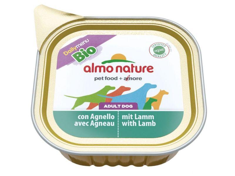 Паштет Almo Nature: ЯГНЕНОК для собак (Bio Daily Menu Lamb) - Фото