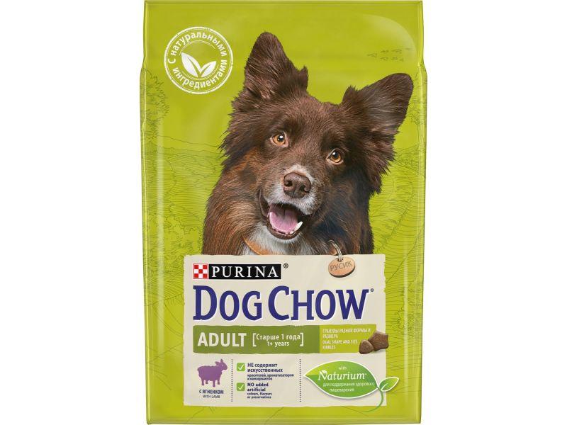 Dog Chow Сухой корм  с ЯГНЕНКОМ (Adult), для собак - Фото