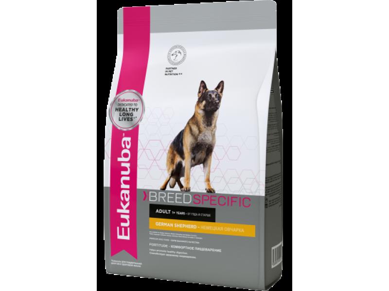 Eukanuba Сухой корм для НЕМЕЦКОЙ ОВЧАРКИ (German Shepherd), 10 кг - Фото