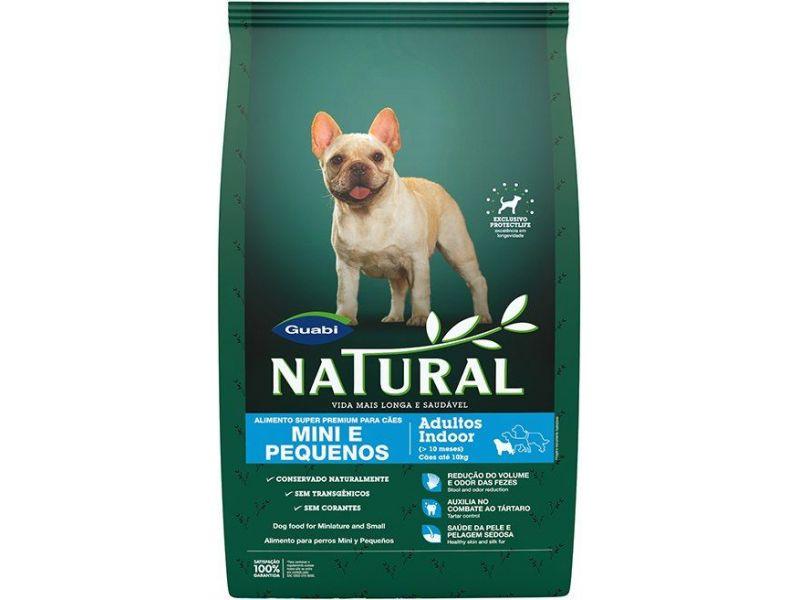 Guabi Natural Сухой корм для взрослых собак МАЛЫХ пород (Natural adult dog's miniature and small breeds) - Фото