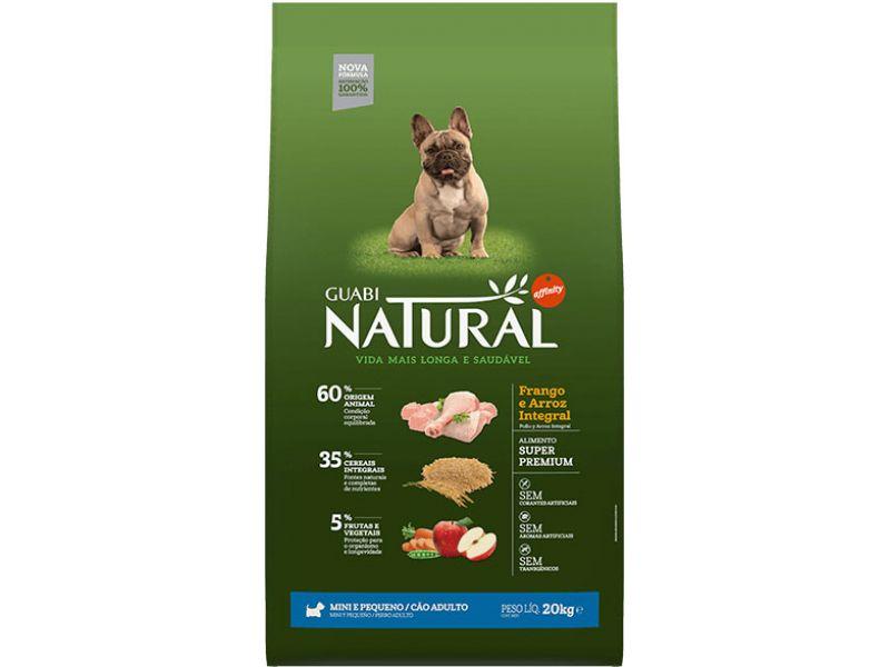 Guabi Natural Сухой корм с цыпленком и рисом для собак МАЛЫХ пород (Natural Adult Small Breed) - Фото