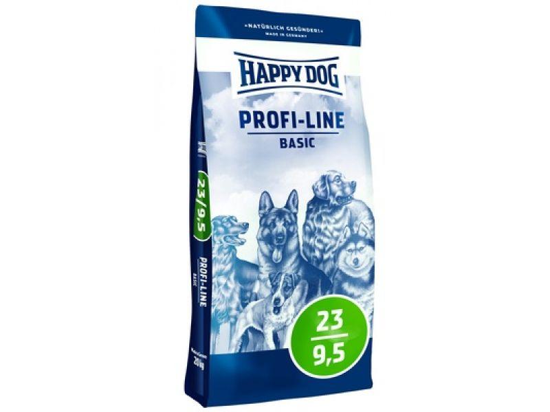 "Happy Dog Сухой корм ""Профи базис"" для взрослых собак (Profi Linie Basis 23/9,5), 20 кг  - Фото"