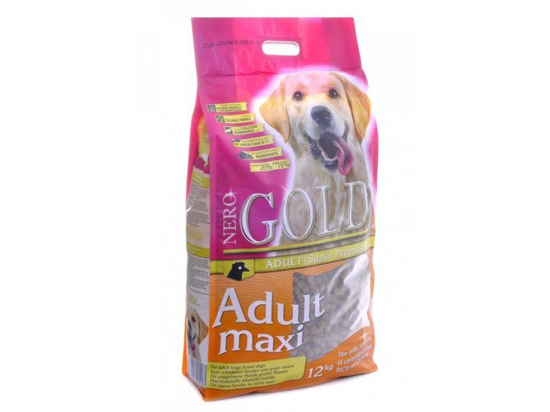 Сухой корм Nero Gold super premium для ВЗРОСЛЫХ собак КРУПНЫХ пород (Adult Maxi 26/16) - Фото