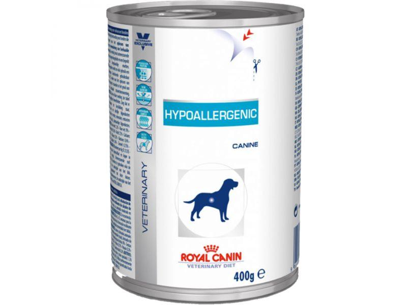 Royal Canin Влажный веткорм для собак при пищевой аллергии (Hypoallergenic), 400 гр - Фото