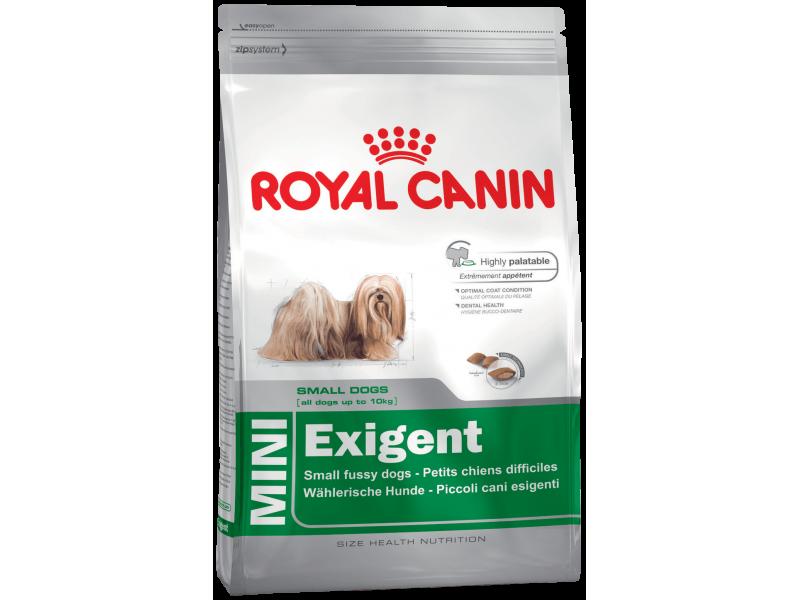 Сухой корм Royal Canin для собак-приверед МАЛЫХ пород (Mini Exigent) - Фото