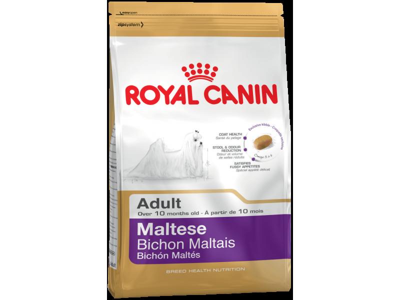 Сухой корм Royal Canin для породы Мальтийская болонка (Maltese Adult), 1,5 кг - Фото