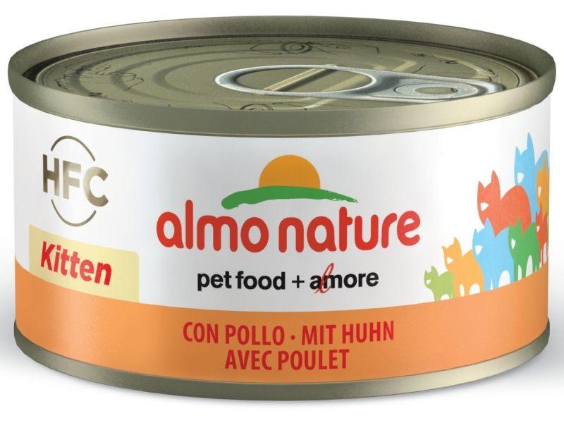Almo Nature Legend Консервы с курицей для КОТЯТ (Legend HFC Kitten Chicken), 70 гр - Фото