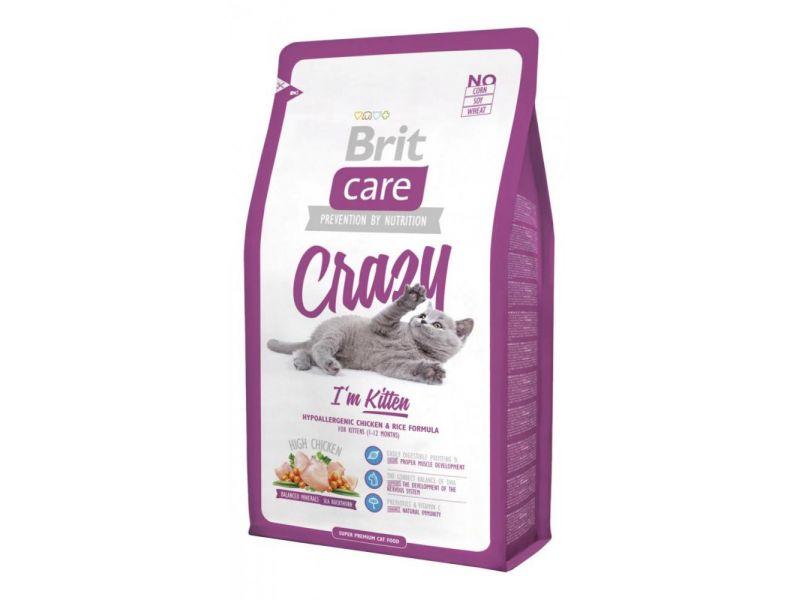 Brit Care Сухой корм с КУРИЦЕЙ для КОТЯТ (Kitten) - Фото