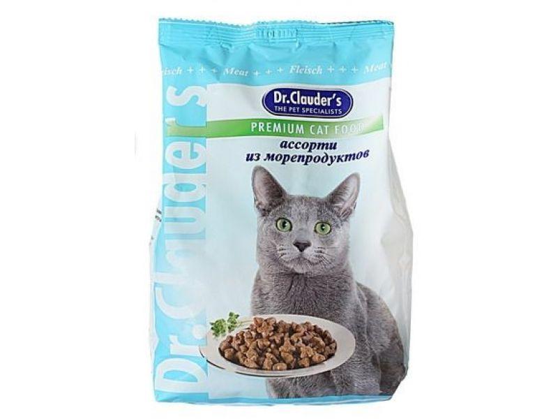 Сухой корм Dr. Clauder АССОРТИ из МОРЕПРОДУКТОВ для кошек - Фото