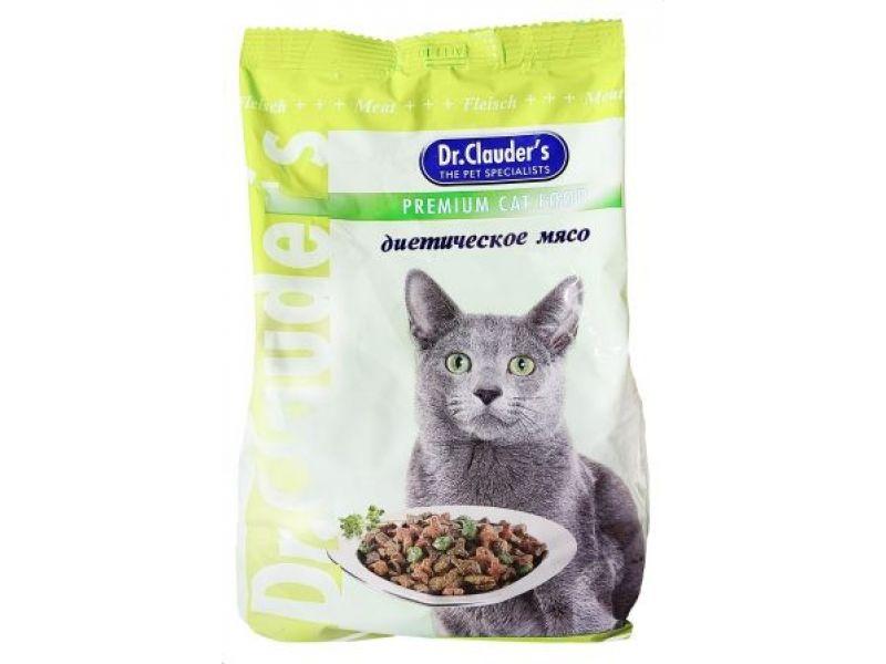 Сухой корм Dr. Clauder с ЯГНЕНКОМ (диетический)  для кошек    - Фото