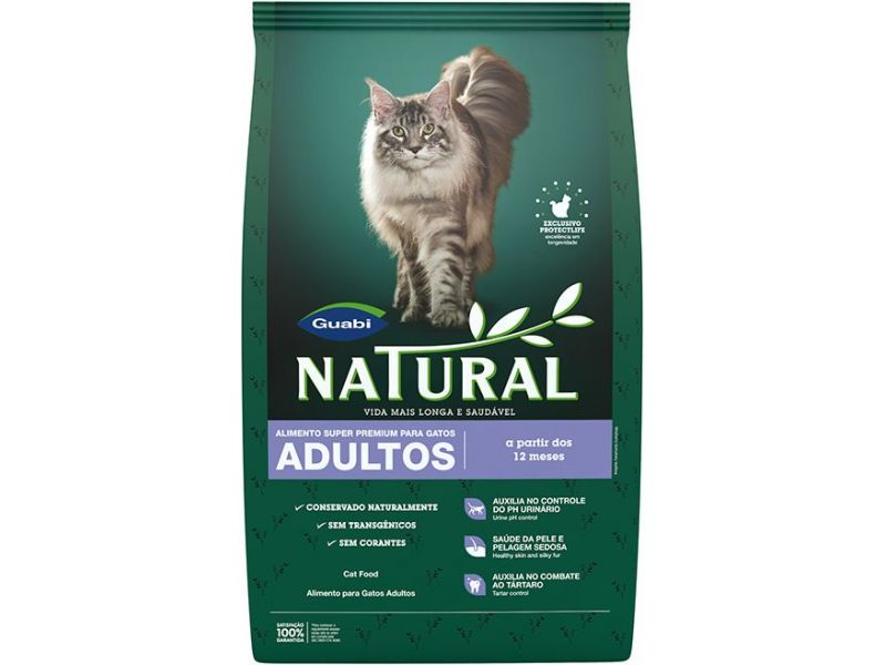 Guabi Natural Сухой корм с КУРИЦЕЙ для кошек (Natural adult cat food) - Фото