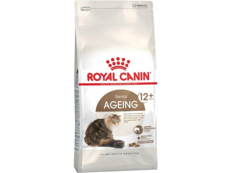 Royal Canin Сухой корм для пожилых кошек старше 12 лет (Ageing+12) - Фото