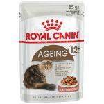 ТОВАР ДНЯ!!! Royal Canin Паучи в СОУСЕ для кошек старше 12 лет (Ageing+12), 85 гр