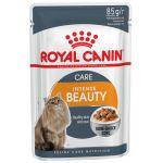 ТОВАР ДНЯ!!! Royal Canin Кусочки в СОУСЕ для кошек: идеальная кожа и шерсть (Intense Beauty ), 85 г