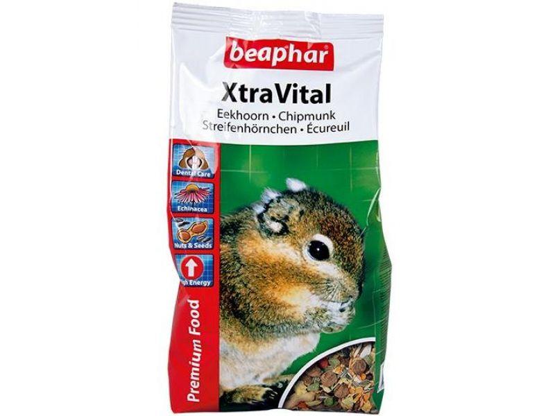 Сухой корм Beaphar Xtra Vital для БЕЛОК и БУРУНДУКОВ (Chipmunk), 800 г - Фото