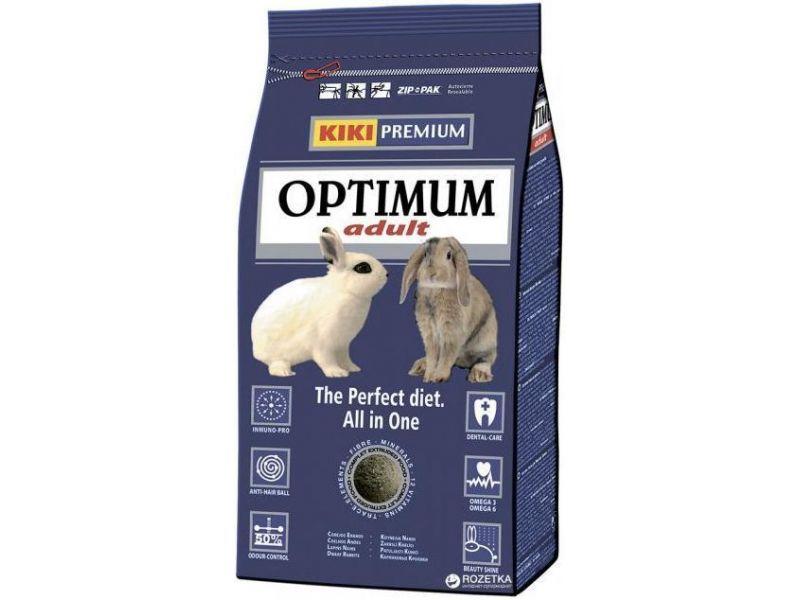 Сухой корм Kiki Optium для ДЕКОРАТИВНЫХ КРОЛИКОВ, 800 гр - Фото