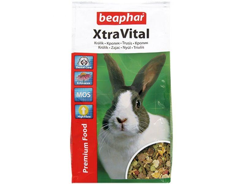 Beaphar Xtra Vital Сухой корм для ВЗРОСЛЫХ кроликов (Rabbit) - Фото