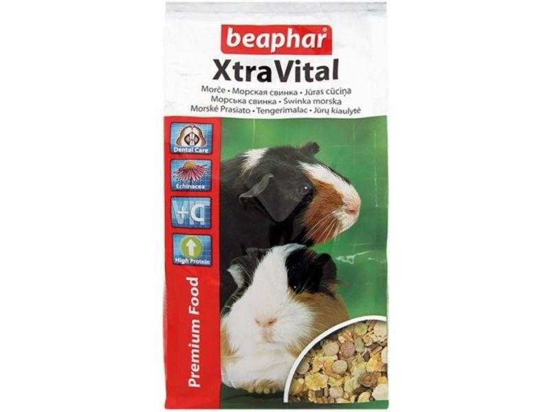 Beaphar Xtra Vital Сухой корм для ВЗРОСЛЫХ морских свинок (Guinea Pig) - Фото