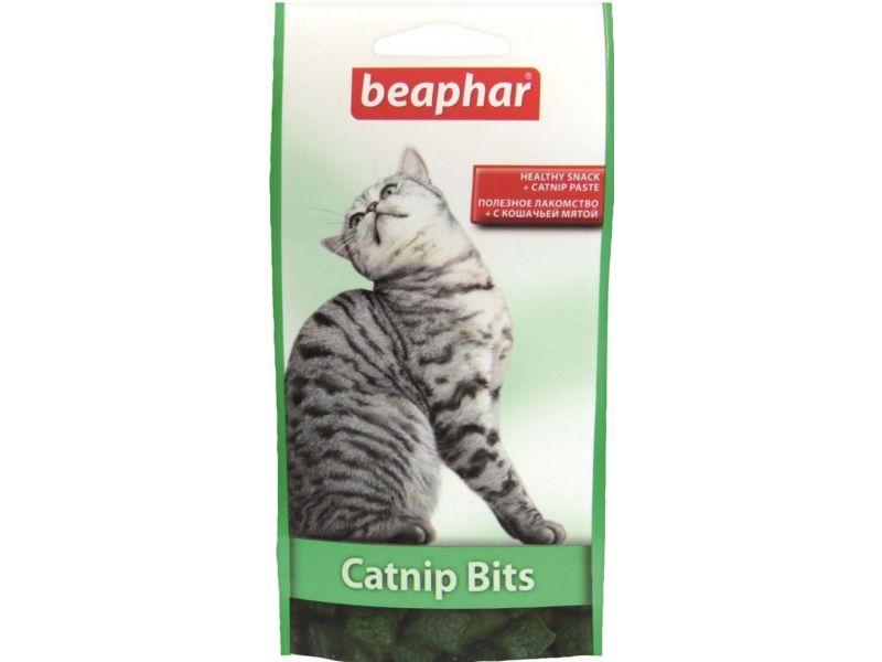 Beaphar Catnip Bits Лакомство с кошачьей мятой, для кошек - Фото