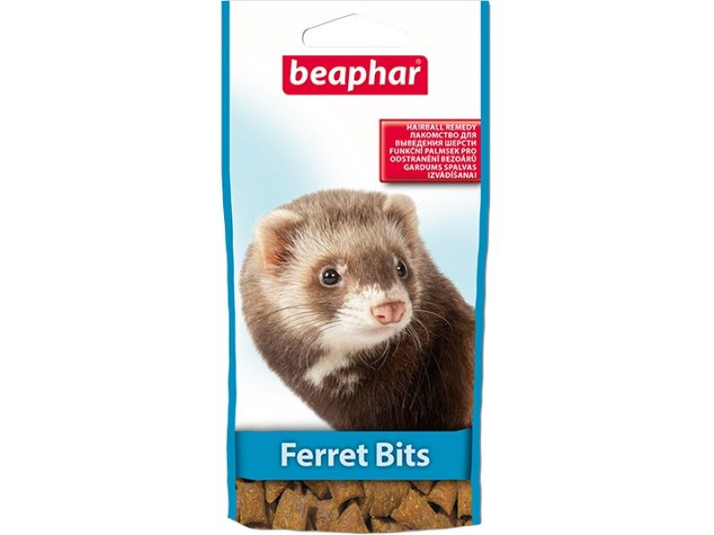 Beaphar Ferret Bits Подушечки для хорьков, 35 гр - Фото