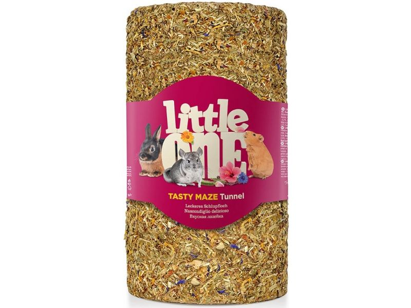 """Little One """"Туннель большой"""" - лакомство-игрушка для всех грызунов, 410 гр - Фото"""