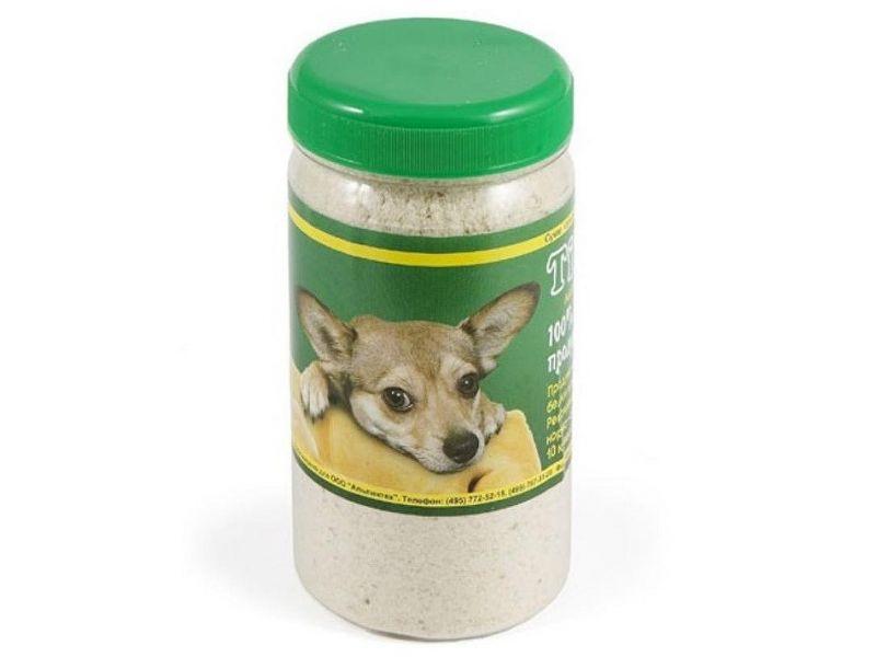 TiTBiT МЯСОКОСТНАЯ МУКА (пластиковая банка), для собак, 0,35 л   - Фото