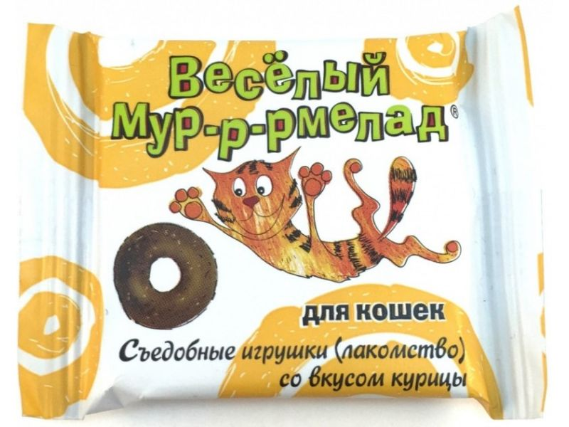 Веда Мурррмелад со вкусом КУРИЦЫ, для кошек , 6 гр  - Фото