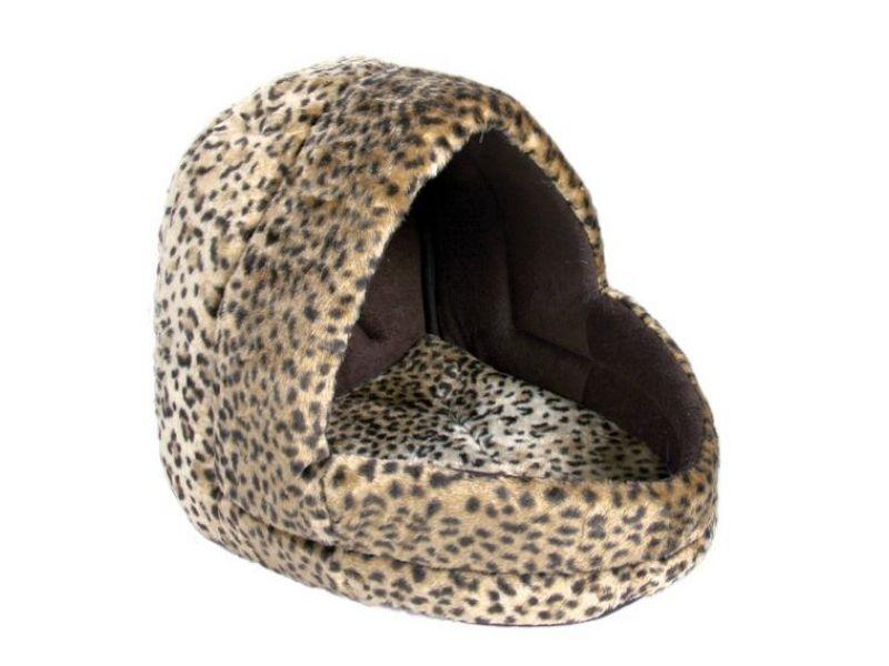 """Trixie Лежак - пещера """"Leo"""", для животных, плюш (3626), 35*40*35 см    - Фото"""