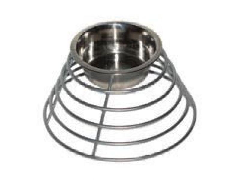 Данко Подставка с миской напольная, кольцевая, для собак с длинными ушами, h=12 см - Фото
