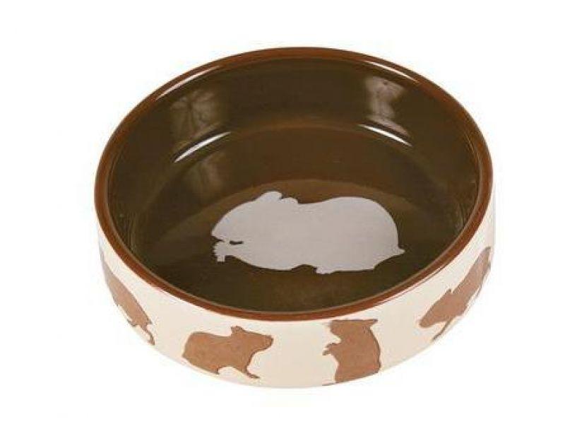 Trixie Миска керамическая для хомяков (60731), диаметр 8 см, 80 мл  - Фото