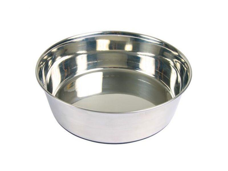 Trixie Миска из нержавеющей стали на резиновой основе для собак (25071/072/073) - Фото