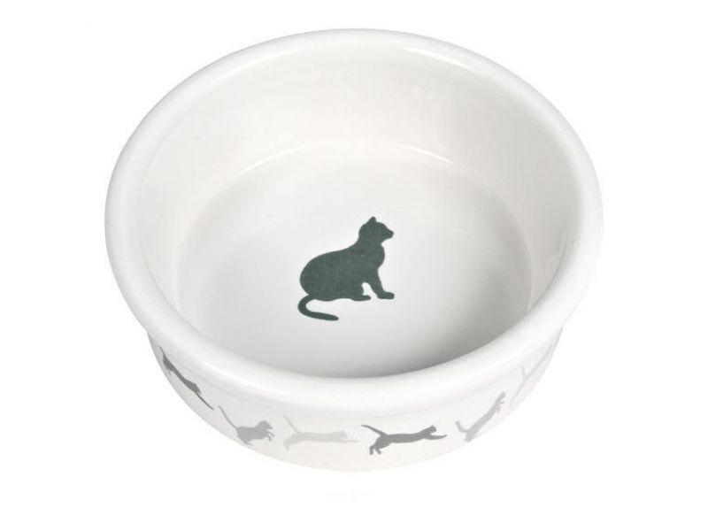 Trixie Миска керамическая для кошек (4019), 11 см, 250 мл  - Фото