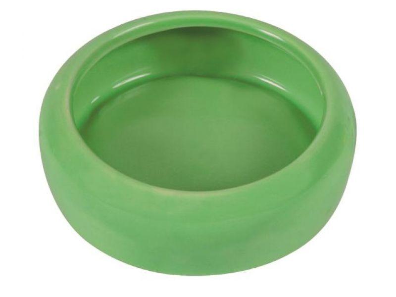Trixie Миска керамическая для морских свинок (60742), диаметр 10 см, 200 мл   - Фото