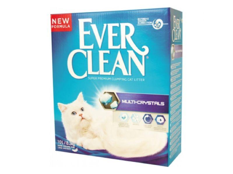 Ever Clean Комкующийся наполнитель с добавлением силикагеля (Multi Crystals Blend) - Фото