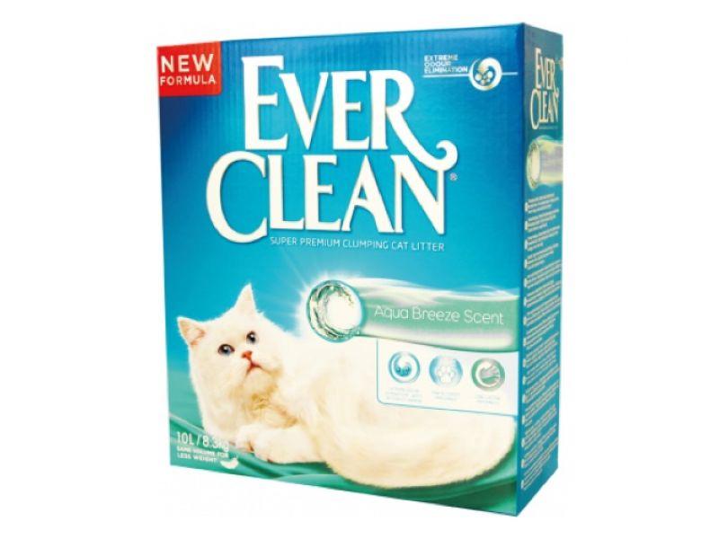 Ever Clean Комкующийся наполнитель с ароматом Морского Бриза (Aqua Breeze) - Фото