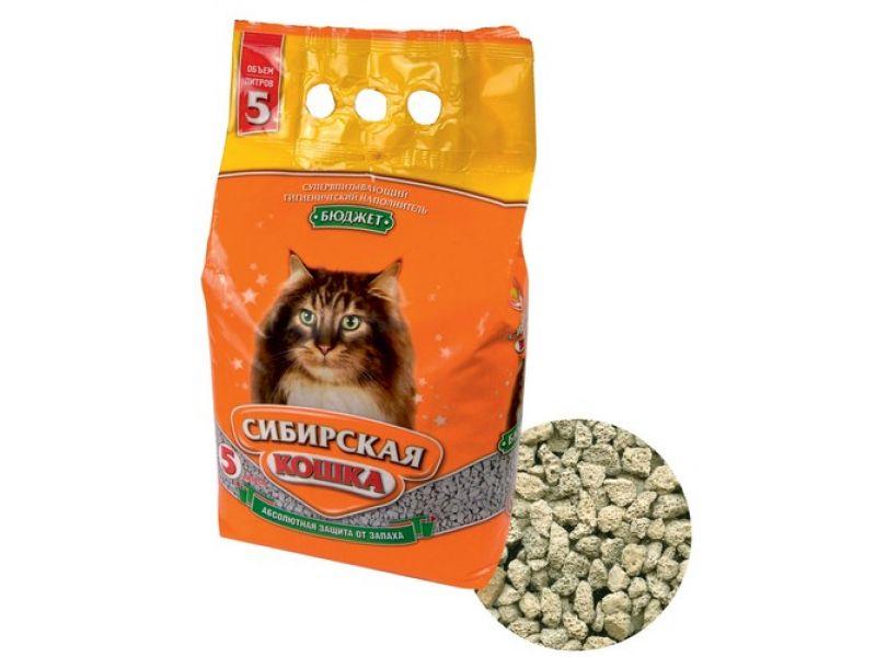 Наполнитель Сибирская кошка впитывающий БЮДЖЕТ - Фото