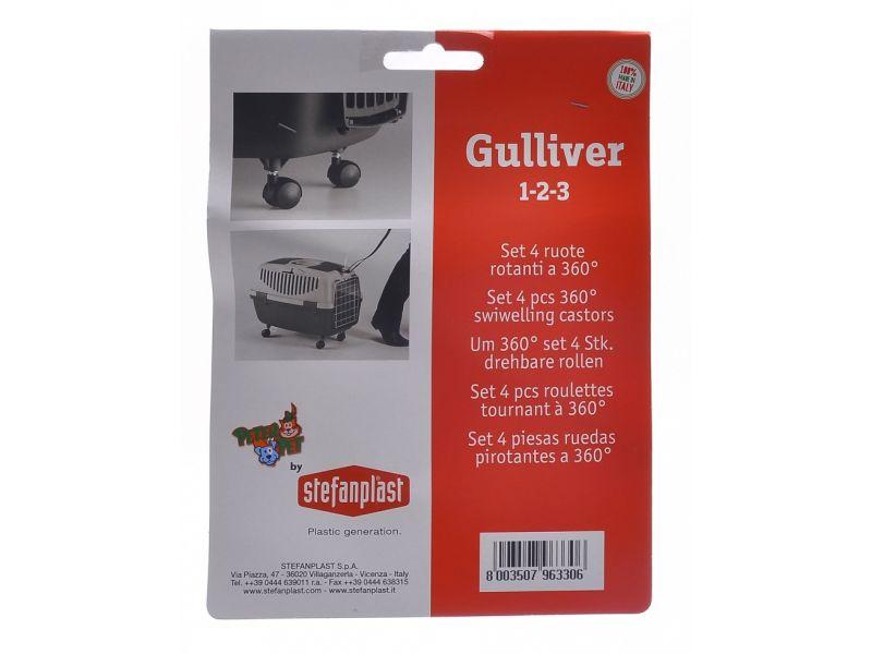Stefanplast Ролики для переноски Gulliver 1, 2, 3 (4 шт.) - Фото
