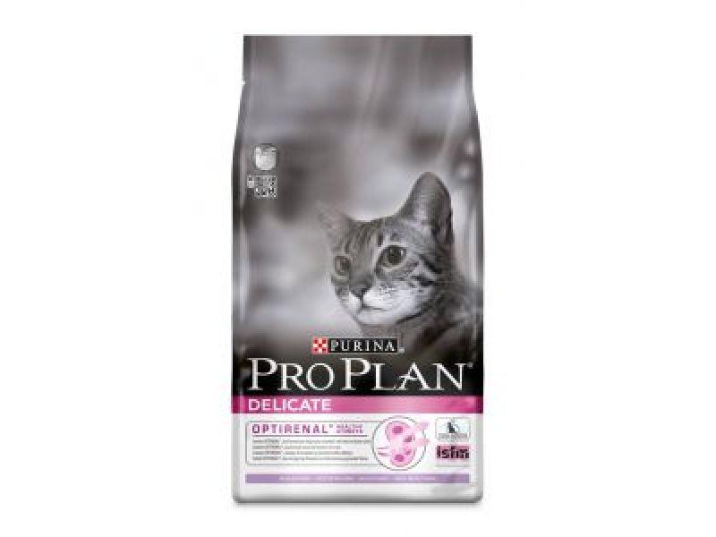 Сухой корм Purina Pro Plan с ИНДЕЙКОЙ и рисом для кошек - ИДЕАЛЬНОЕ ПИЩЕВАРЕНИЕ (Adult Delicate) - Фото