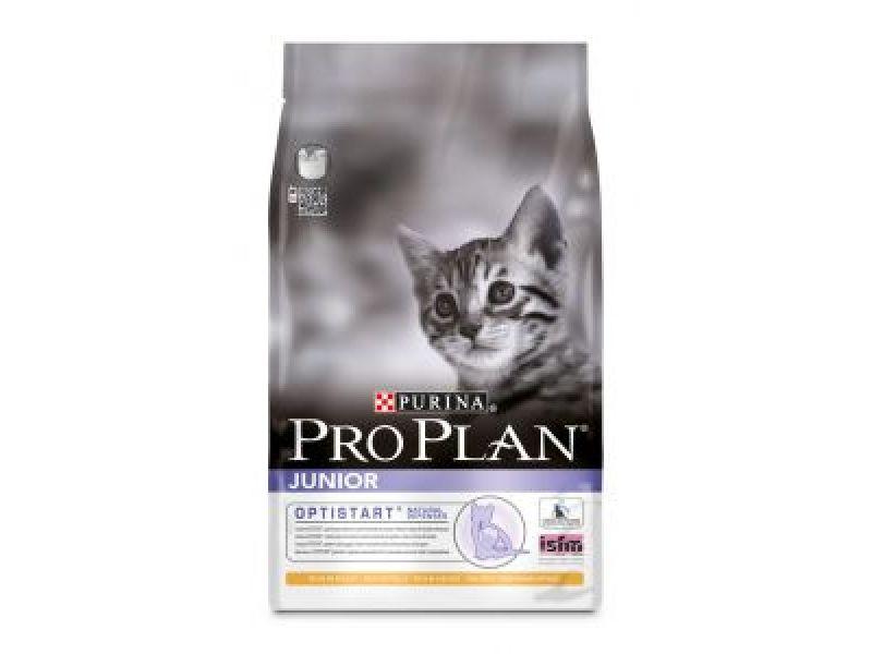 Сухой корм Purina Pro Plan с КУРИЦЕЙ и рисом для КОТЯТ (KItten Сhicken&Rice)  - Фото