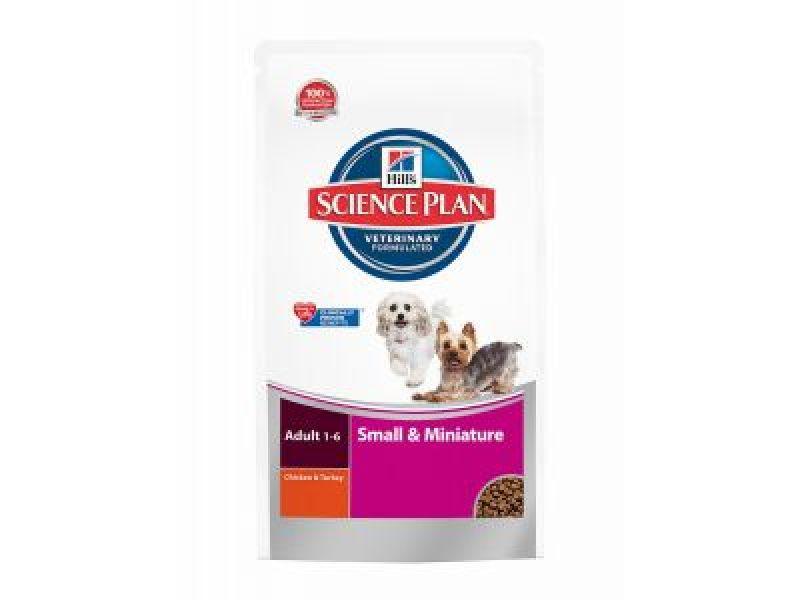 Сухой корм Hill's Science Plan™ с КУРИЦЕЙ для взрослых собак МИНИАТЮРНЫХ и МАЛЫХ пород (Adult Small&Miniature)  - Фото